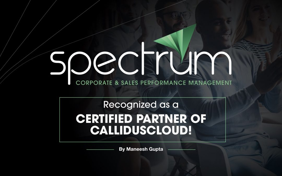 Spectrum Recognized as a Certified Partner of CallidusCloud!