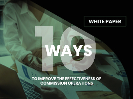 White Paper: 10 ways to improve the effectiveness of Commission Operations