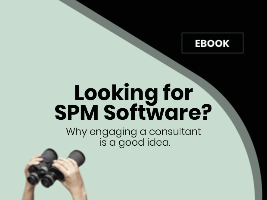 eBook: Looking for  SPM Software? Why engaging a consultant  is a good idea.