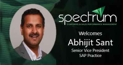 Spectrum Technologies Welcomes Abhijit Sant as Sr Vice President of SAP Practice