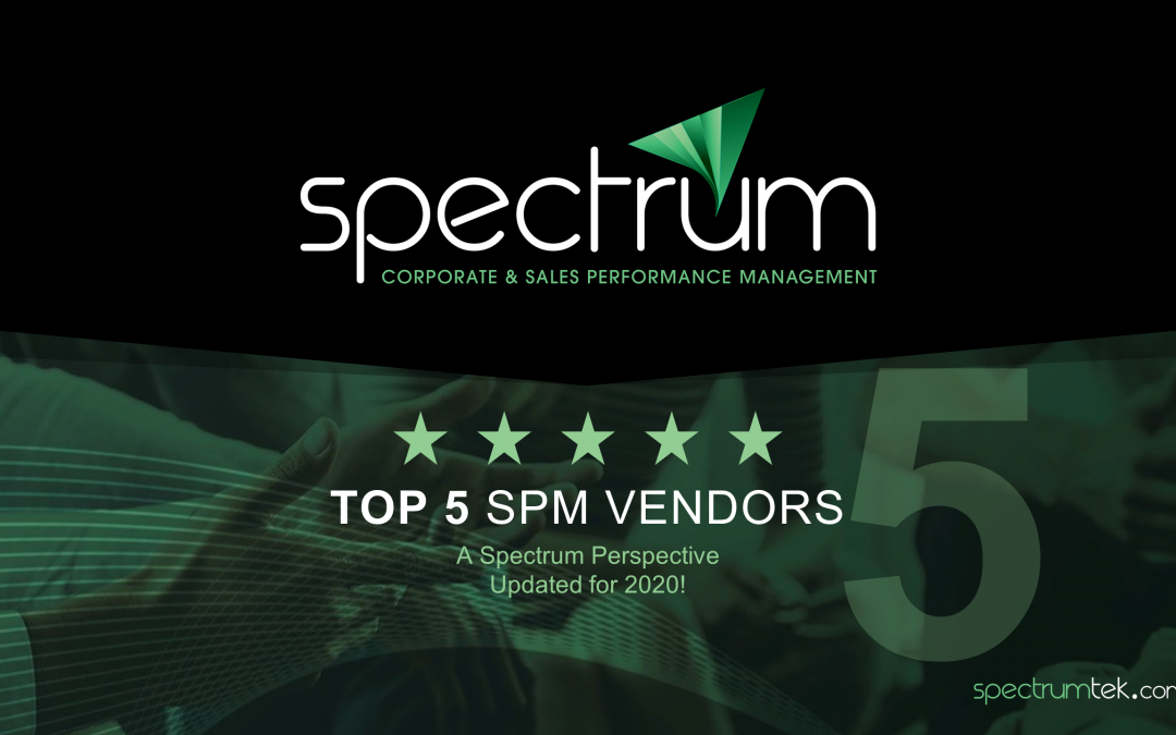 Top 5 SPM Vendors – Updated for 2020!