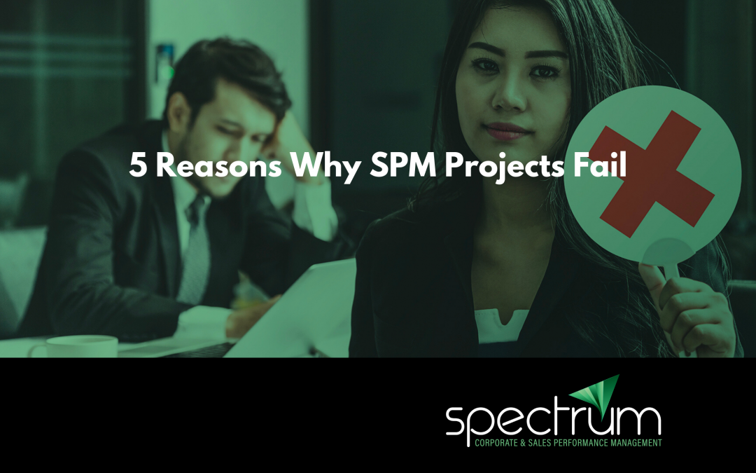 Five Reasons Why SPM Projects Fail