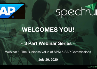 Webinar On-Demand: The Business Value of Sales Performance Management