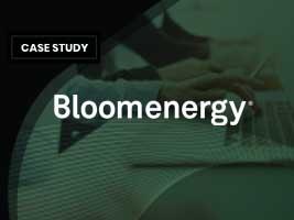 Case Study: Bloom Energy