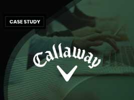 Case Study: Callaway Golf